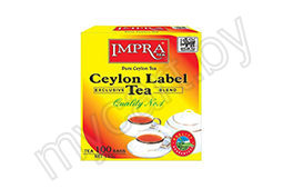 Чай Импра Ceylon label tea, черный100пх1,5 г, 150 г