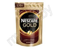 Кофе Nescafe Gold растворимый, 130г