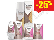 На серию REXONA Clinical Protection