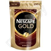 Кофе растворимый NESCAFE GOLD, с добавлением молотого, 150г