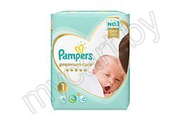 Подгузники Pampers Premium Care Newborn (2-5 кг) 72 шт./Mini (4-8 кг) 66 шт./Midi (6-10 кг) 52 шт./Maxi (9-14 кг) 37 шт./Junior (11-16 кг) 28 шт.