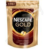 Кофе Nescafe Gold, 190 г