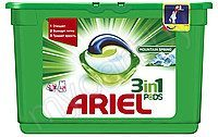 "Капсулы для стирки ""Ariel"" 3in1 Pods Color, 13 штук*27г"