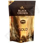 Кофе BLACK CROWN, gold, растворимый, сублимированный, 150 г