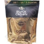 Кофе растворимый сублимированный BLACK CROWN, gold, 400 г