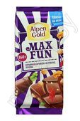 "Шоколад ""Alpen Gold Max Fun"", 160г"