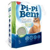 Наполнитель для кошачьего туалета Pi-Pi-Bent Deluxe Fresh Grass, 5 кг