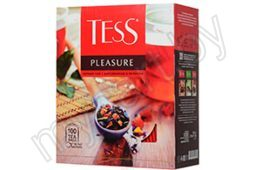 Чай Tess Pleasure черный,  100 пак*1,5 г