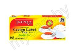 "Чай ""IMPRA"" Ceylon Label, 25 пакетиков"