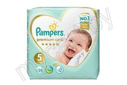 Подгузники-трусики Pampers Premium Care, 3 (6-11 кг), 28 шт.; 4 (9-15 кг), 22 шт.; 5 (12-17 кг), 20 шт.; 6 (15+ кг), 18 шт,