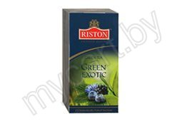 Чай Riston Green Exotic зеленый, 25 пак., 37,5 г