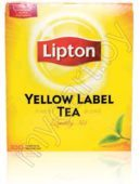 Чай черный LIPTON, yellow label, earl grey, 100 пакетиков х 2 г